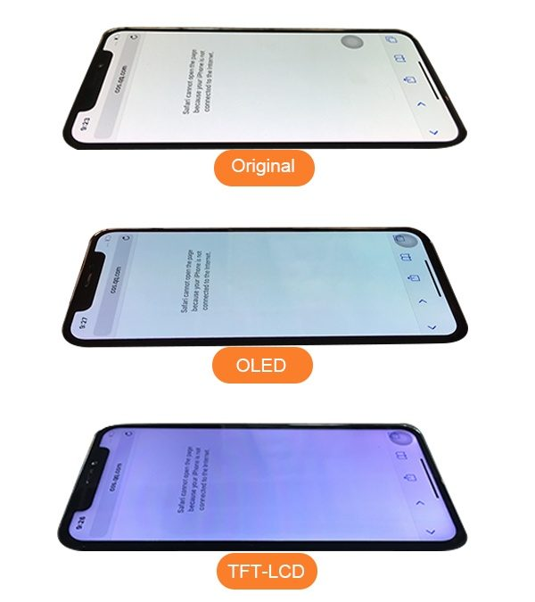 The difference between Apple OEM and Aftermarket iPhone X Screen